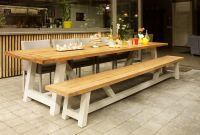 Dining Table with Bench Lovely Outdoor Dining Table Bench Suns Bolano Table