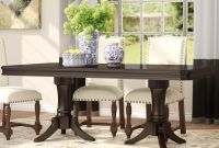 Extendable Dining Table Inspirational Rheems Extendable Dining Table & Reviews