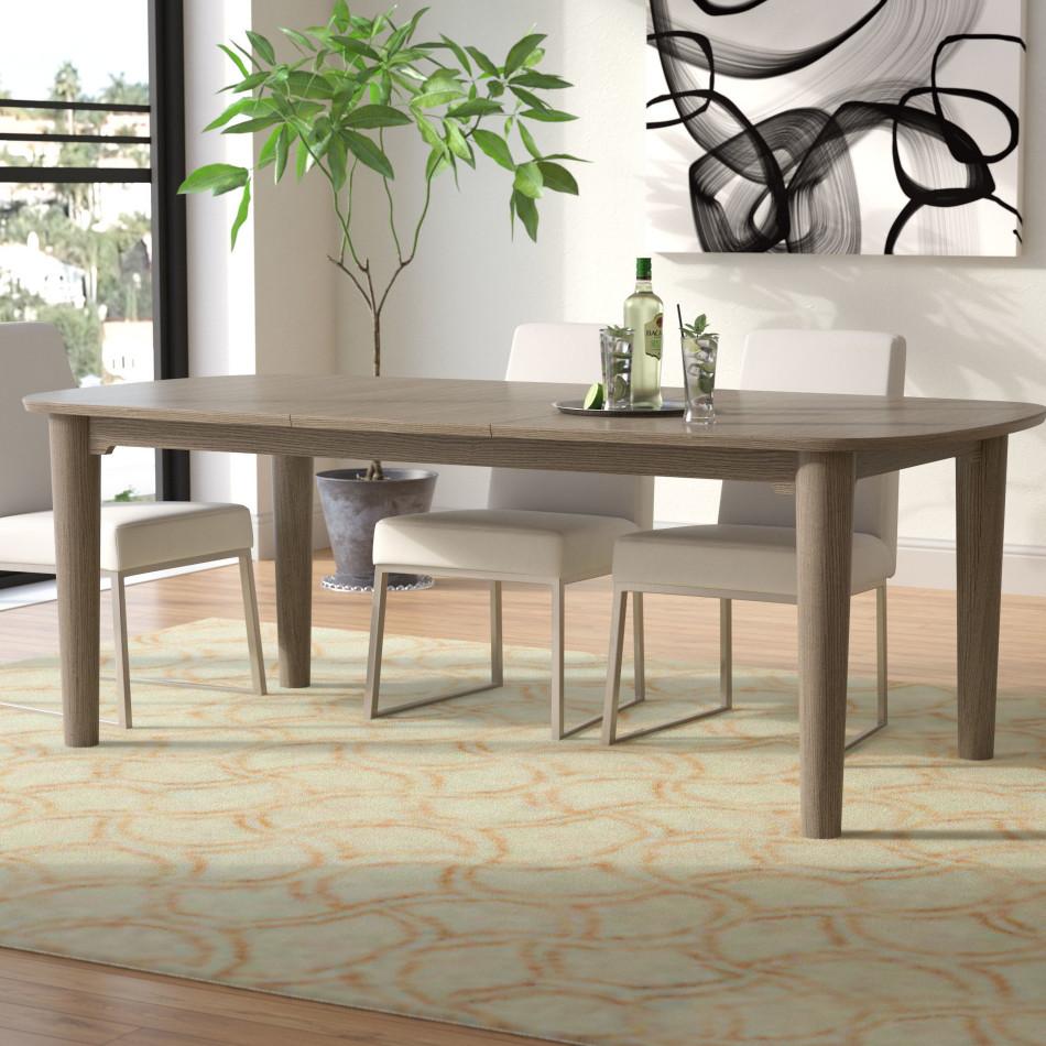 Extendable Dining Table Unique Enrique Extendable Dining Table & Reviews