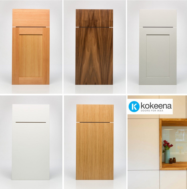 Kitchen Cabinet Door Best Of Kokeena Real Wood Ready Made Cabinet Doors for Ikea Akurum Kitchens