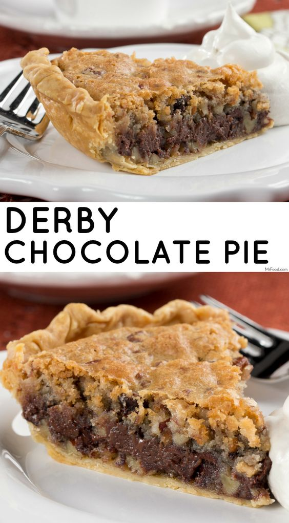 Derby Chocolate Pie