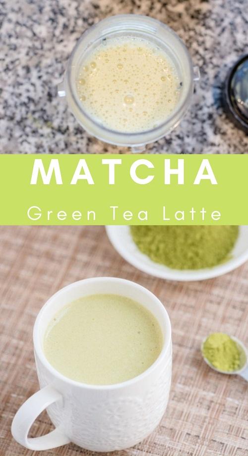 Easy Matcha Green Tea Latte