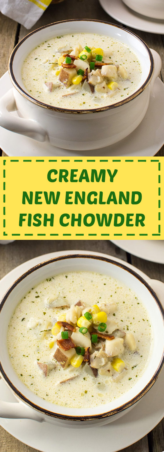 Creamy New England Fish Chowder