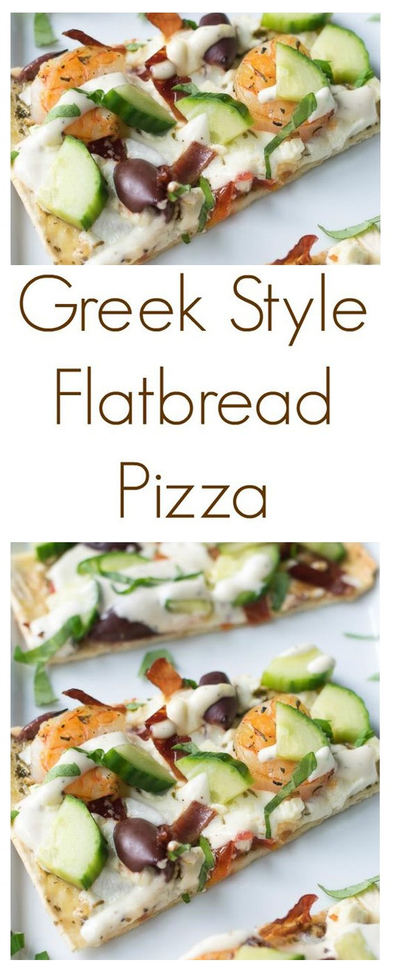Flatbread Pizza – Greek Style and Easy to Make