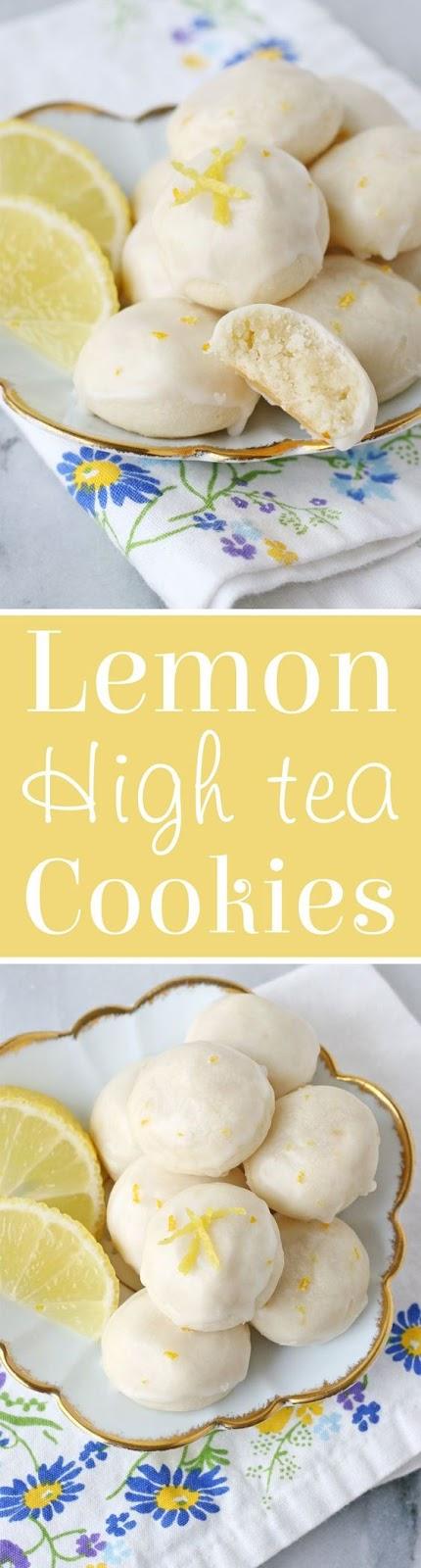 Lemon High Tea Cookies