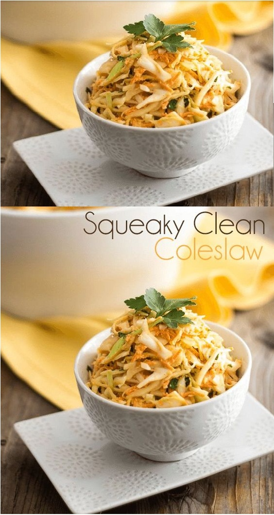 Squeaky Clean Coleslaw - Whole 30