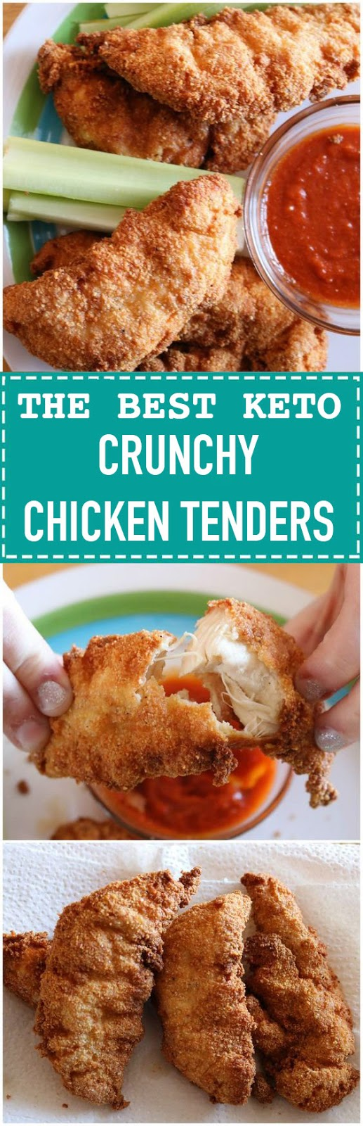 Keto Chicken Tenders
