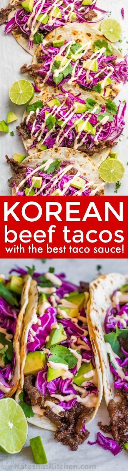 Korean Beef Tacos (Bulgogi) Recipe