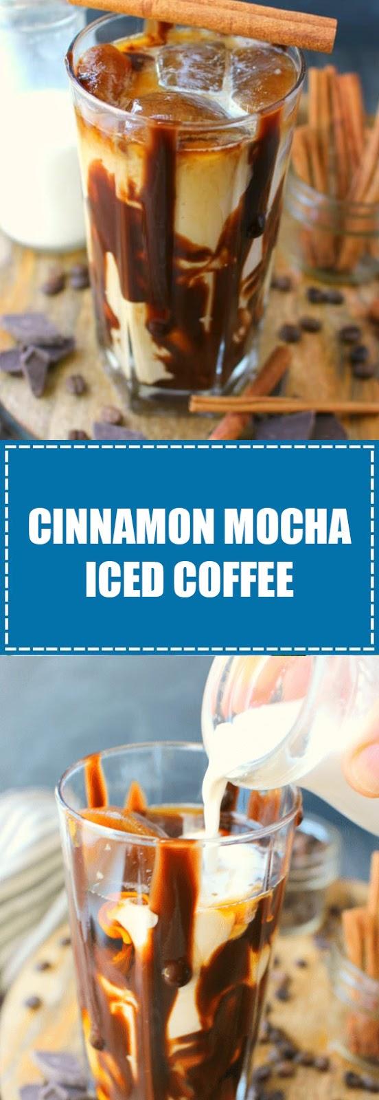 Cinnamon Mocha Iced Coffee
