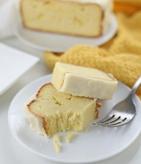 Low Carb Lemon Pound Cake (Gluten-free, Keto-friendly)