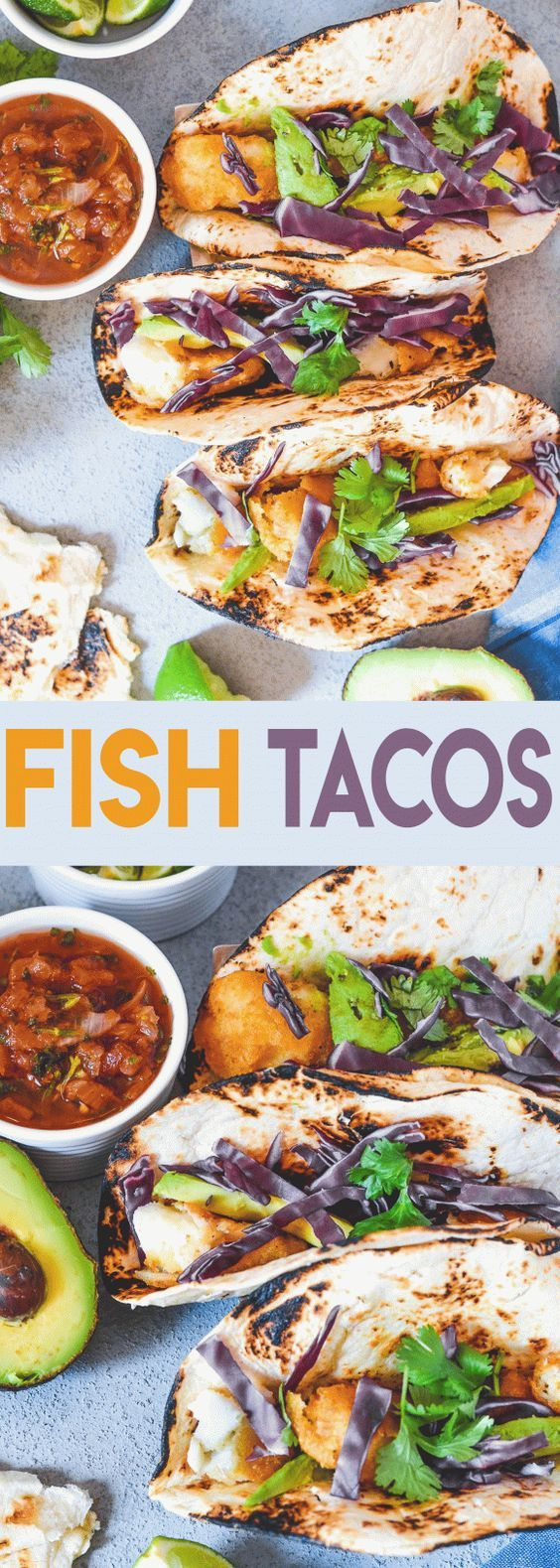 Crispy Beer Battered Fish Tacos