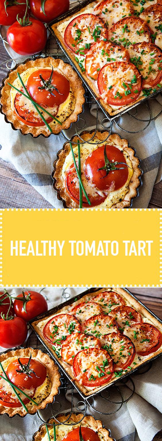 Healty Tomato Tart