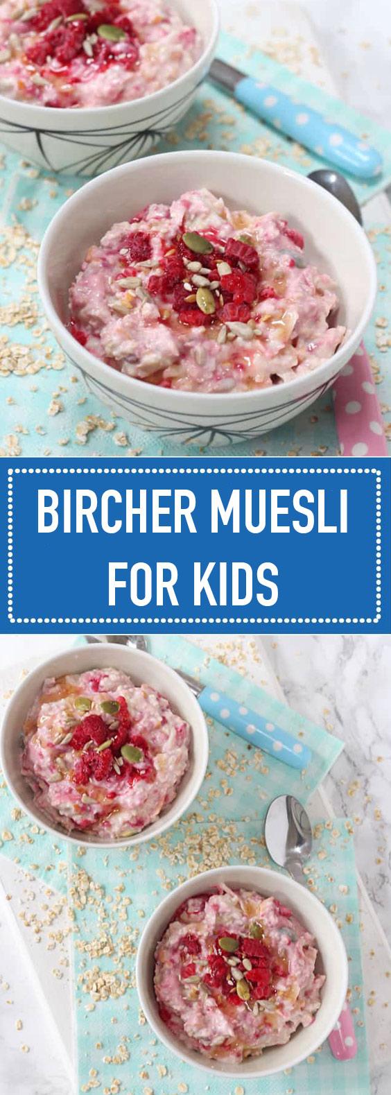 Easy Bircher Muesli Breakfast for Kids