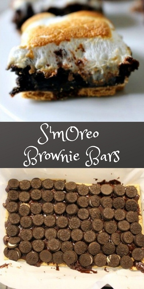 S'mOreo Brownie Bars