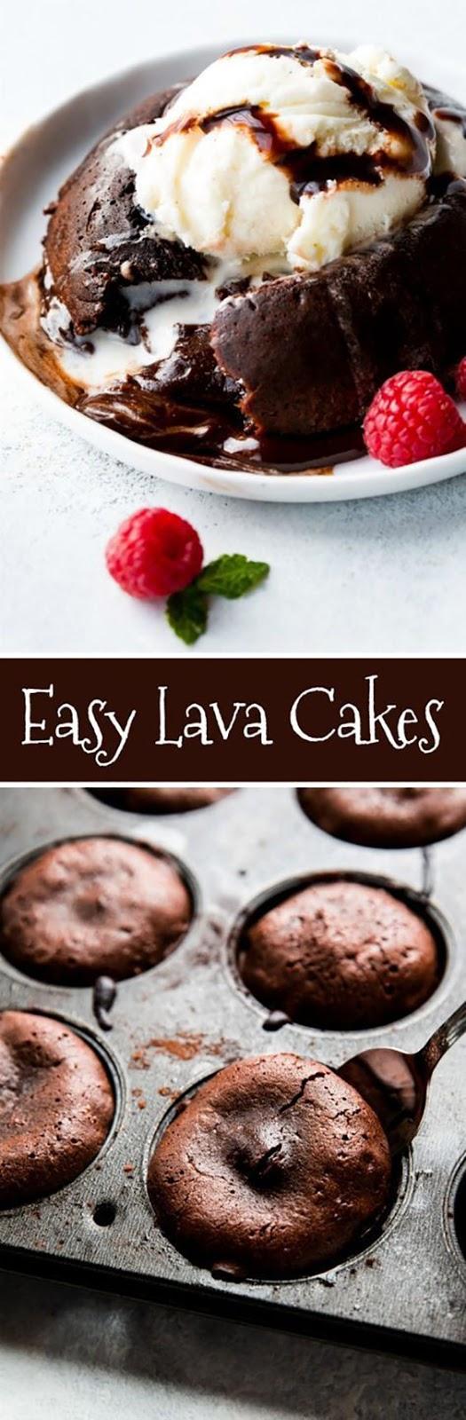 How to Make Chocolate Lava Cakes