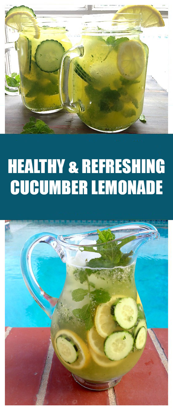 Healthy Cucumber Lemonade