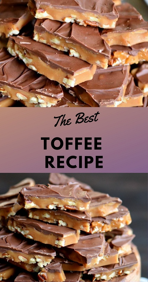 The Best Toffee Recipe