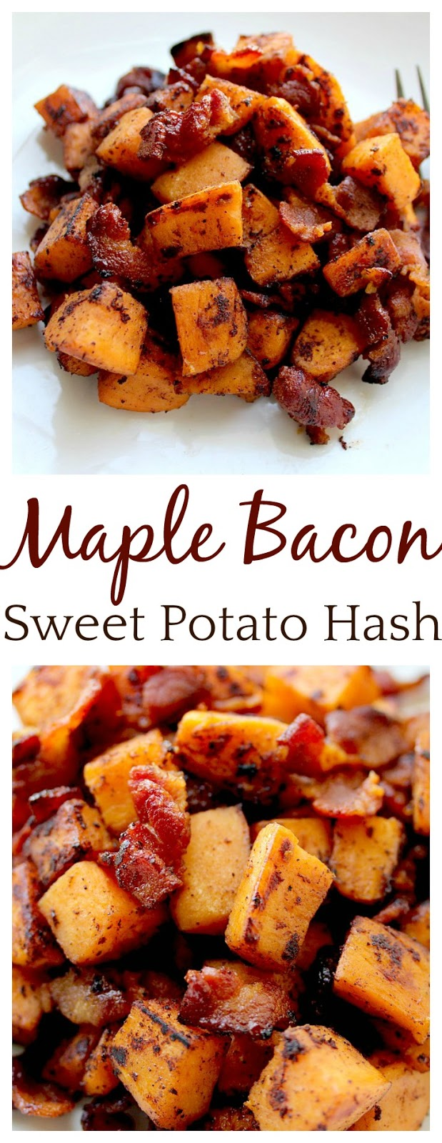 Maple Bacon Sweet Potato Hash Recipe