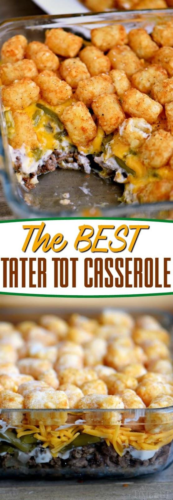 Best Tater Tot Casserole Recipe