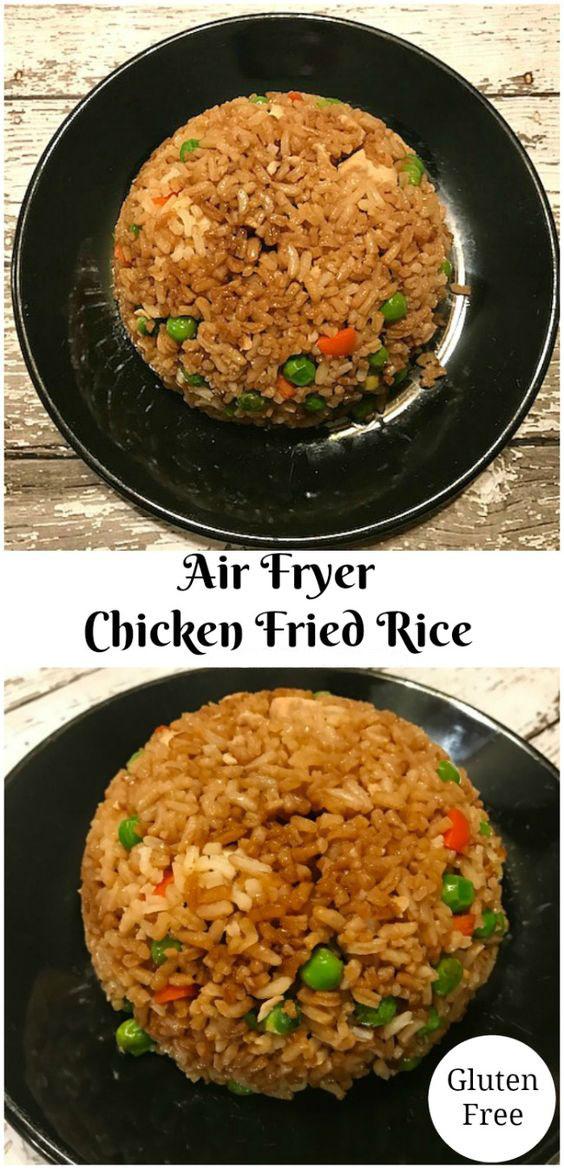 Air Fryer Chicken Fried Rice Recipe