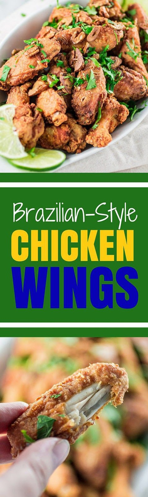 Brazilian Style Chicken Wings