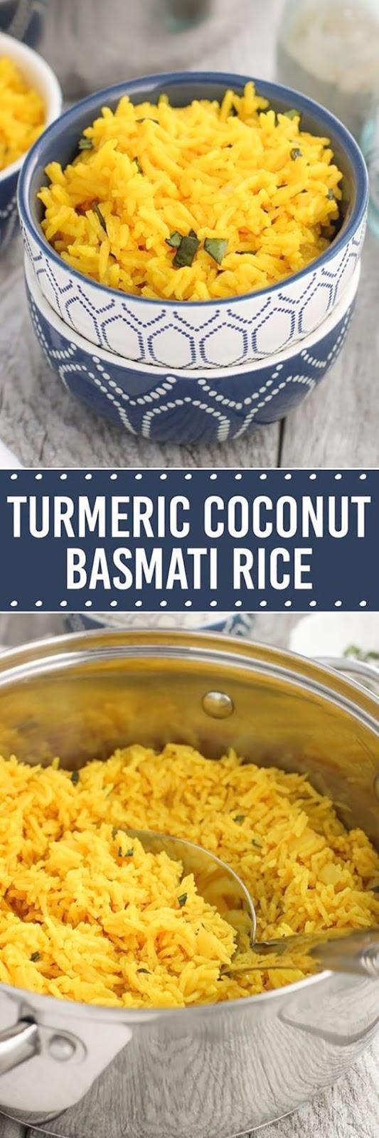 Turmeric Coconut Basmati Rice