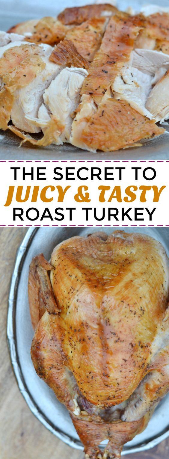 AMAZING DRY BRINED ROAST TURKEY