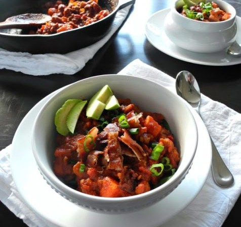 Chorizo Sweet Potato Chili (Paleo & Whole30)