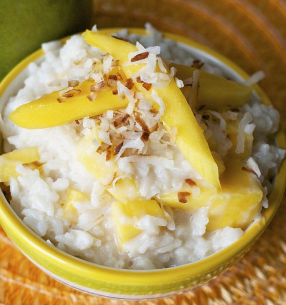 Coconut Mango Rice Pudding (Dairy Free) Recipes - Home ...
