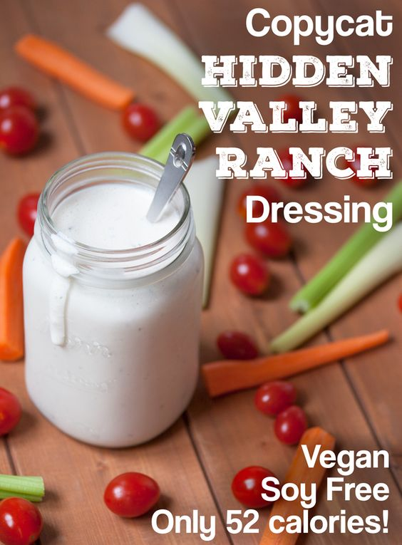 Copycat Hidden Valley Ranch Dressing (Vegan)