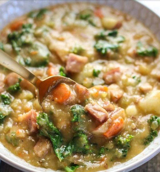 Creamy Ham and Potato Soup