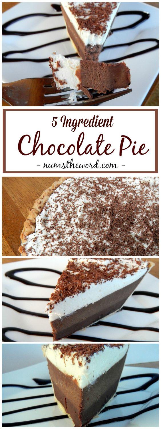 Easy Chocolate Pie