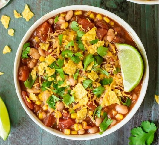 Easy Taco Soup Ready in 10 Minutes