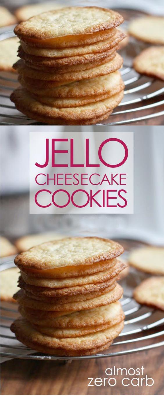 Favorite Low Jello Cheesecake Cookies