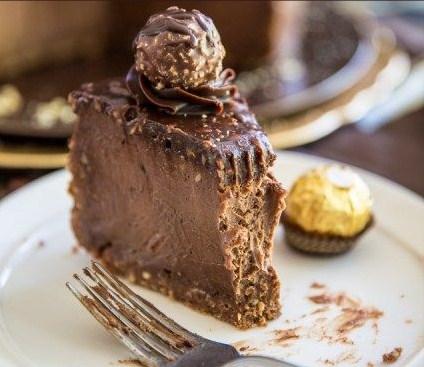 Ferrero Rocher Nutella Cheesecake