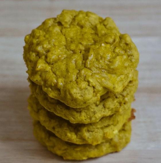 Gluten Free Golden Mango Protein Cookies
