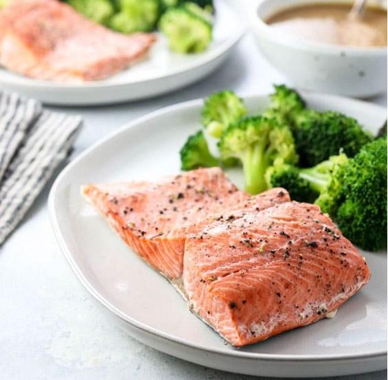 Instant Pot Salmon (Fresh or Frozen)