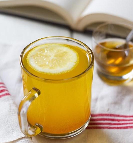 Morning Detox Turmeric Tea