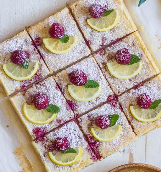 Raspberry Lemon Bar