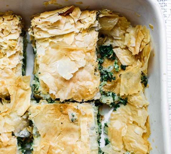 Spanakopita Recipe (Greek Spinach Pie)