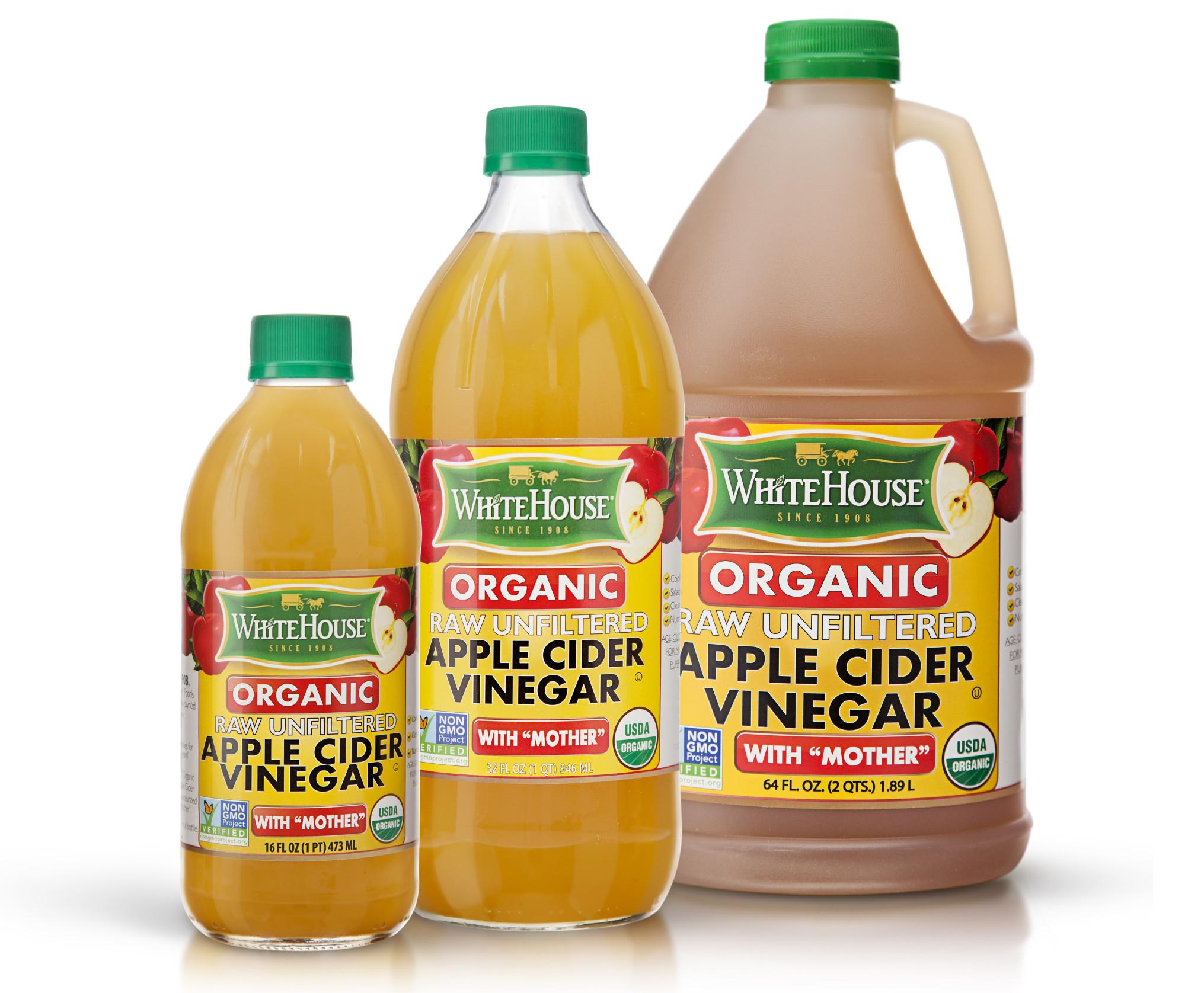 Apple Cider Vinegar  White House Organic Apple Cider Vinegar with Mother