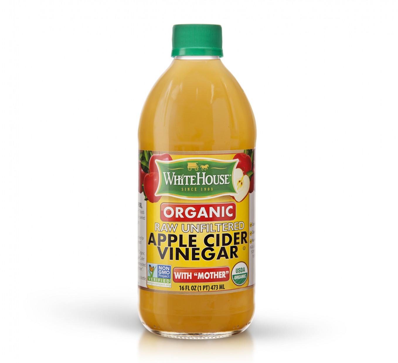 Apple Cider Vinegar  Organic Raw Unfiltered Apple Cider Vinegar White House