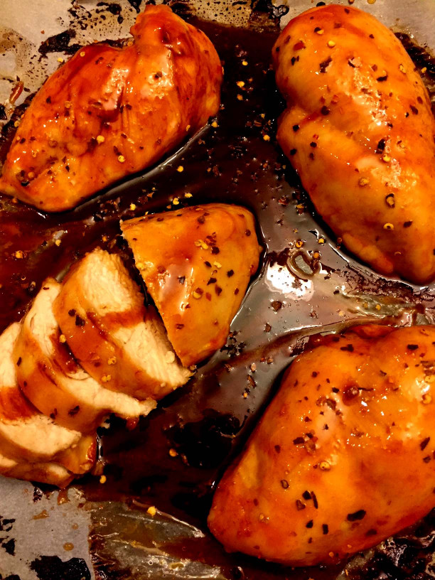 Baked Chicken Breast  Sweet and Spicy Baked Chicken Breasts Recipe – Melanie Cooks