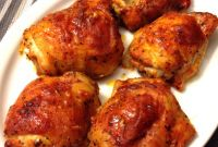 Baked Chicken Thighs Awesome Chili Lime Baked Chicken Thighs — My Healthy Dish