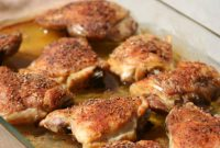Baked Chicken Thighs Fresh Chicken