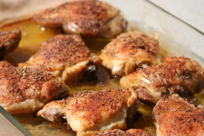 Baked Chicken Thighs Fresh Chicken