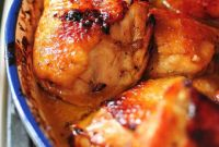 Baked Chicken Thighs Luxury Honey soy Baked Chicken Thighs Recipe