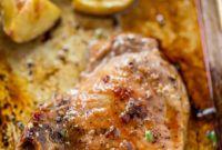 Baked Pork Chops Fresh Brown Sugar Garlic Oven Baked Pork Chops Dinner then