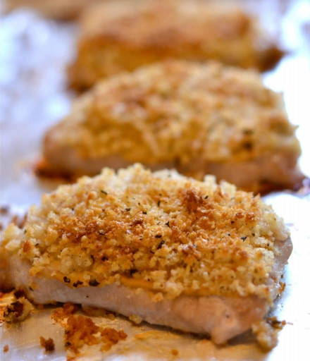 Baked Pork Chops  Easy Baked Panko Pork Chops