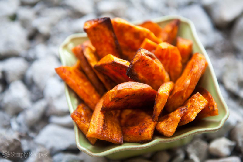 Baked Sweet Potato  Oven Baked Sweet Potato Fries Recipe